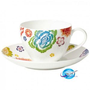 villeroy-boch-Anmut-Bloom-Kaffeetasse-mit-Untertasse-2tlg