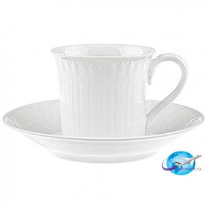 villeroy-boch-Cellini-Kaffee-Teetasse-mit-Untertasse-2tlg