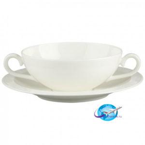 villeroy-boch-White-Pearl-Suppentasse-mit-Untertasse-2tlg