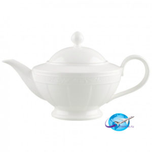 villeroy-boch-White-Pearl-Teekanne-6-Pers
