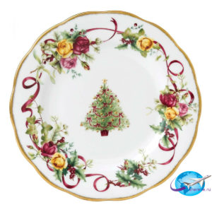 royal-albert-old-country-roses-christmas-plate-652383741584
