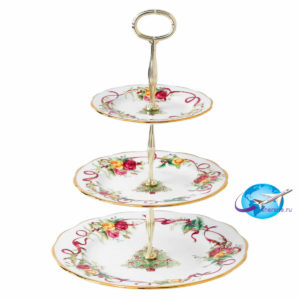 royal-albert-old-country-roses-christmas-three-tier-cake-stand-652383741546