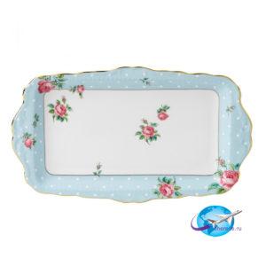 royal-albert-polka-blue-vintage-sandwich-tray-652383739475