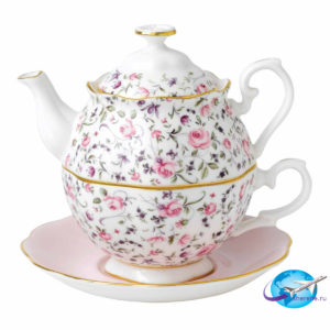 royal-albert-rose-confetti-tea-for-one-701576144483