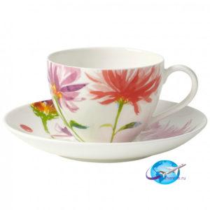 villeroy-boch-Anmut-Flowers-Kaffeetasse-mit-Untertasse-2tlg