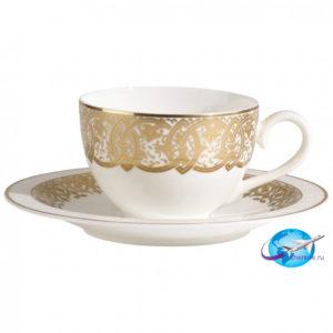 villeroy-boch-Golden-Oasis-Kaffeetasse-mit-Untertasse-2tlg