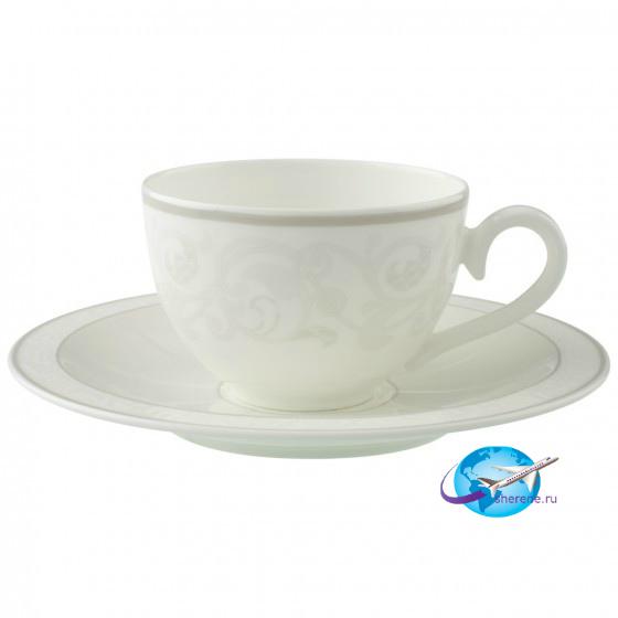 villeroy-boch-Gray-Pearl-Kaffee-Teetasse-mit-Untertasse-2tlg