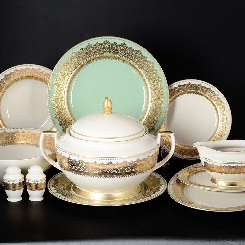 Constanza Agadir Seladon Gold